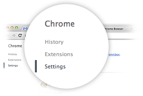 העדפות Google Chrome