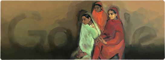 Amrita Sher-Gil's 103rd Birthday